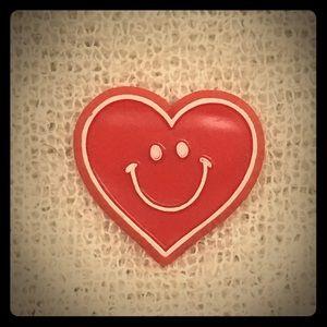 Vintage Hallmark red heart pin ♥️✨